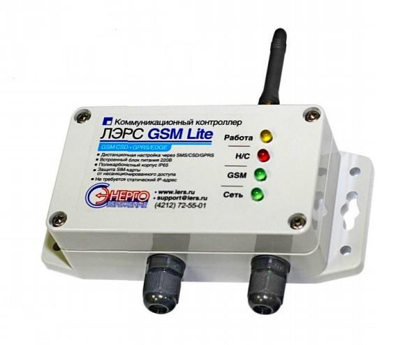 Контроллер ЛЭРС GSM Lite
