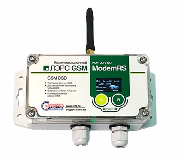 Контроллер ЛЭРС GSM ModemRS