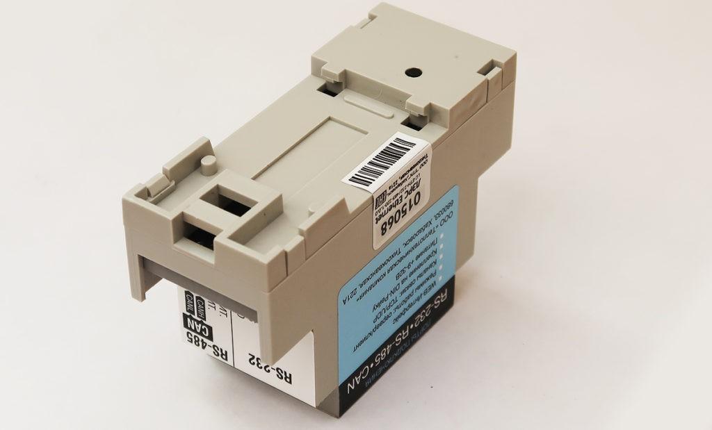 Контроллер ЛЭРС Ethernet. Крепление на DIN-рейку