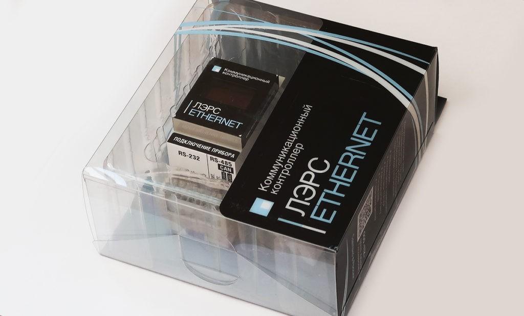 Контроллер ЛЭРС Ethernet в упаковке